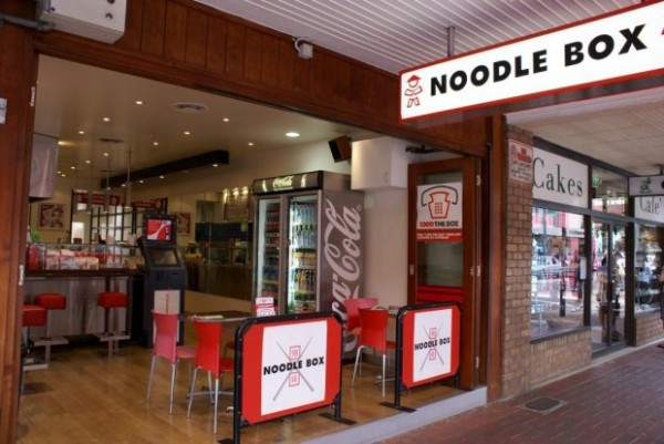 view of noodlebox restaurant
